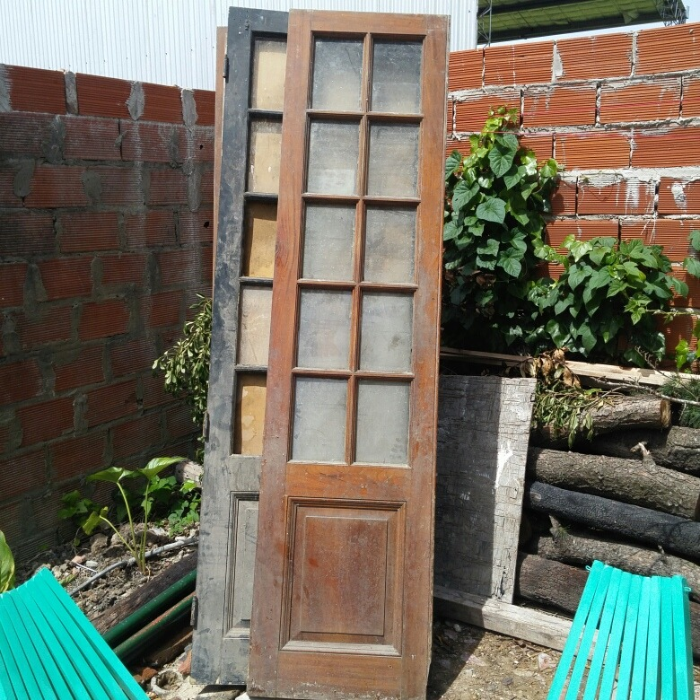 Herrajes para puertas antiguas perfect fabricar puerta for Puertas para reciclar