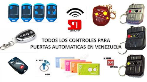 puertas automáticas - control remoto - servicio técnico