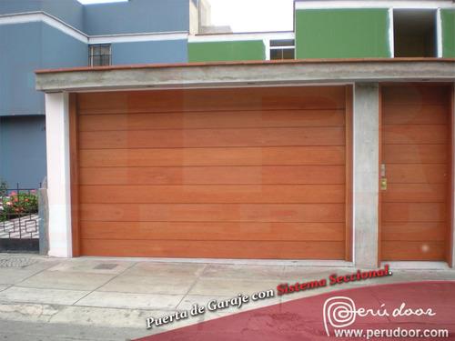 puertas automáticas de garaje