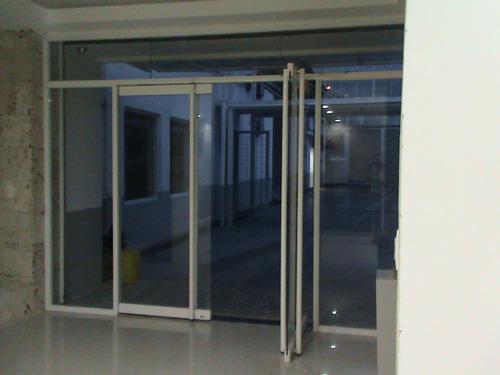 puertas bancarias en vidrio templado laminado