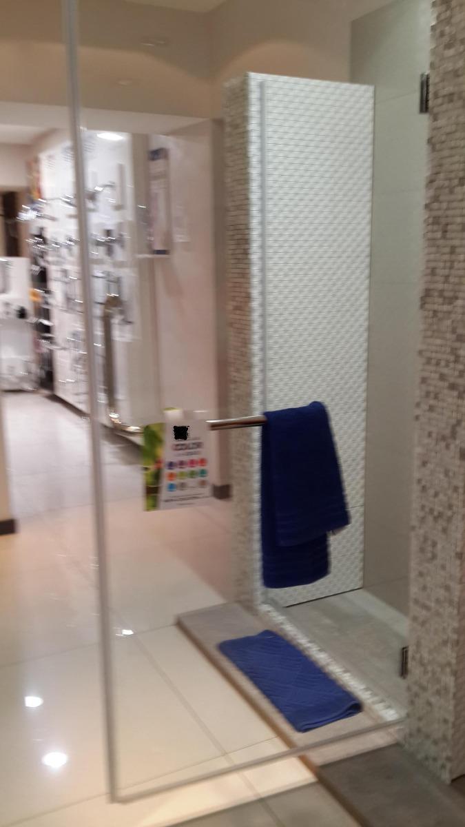 Puertas ba o para duchas batiente en vidrio templado - Puertas para duchas de bano ...
