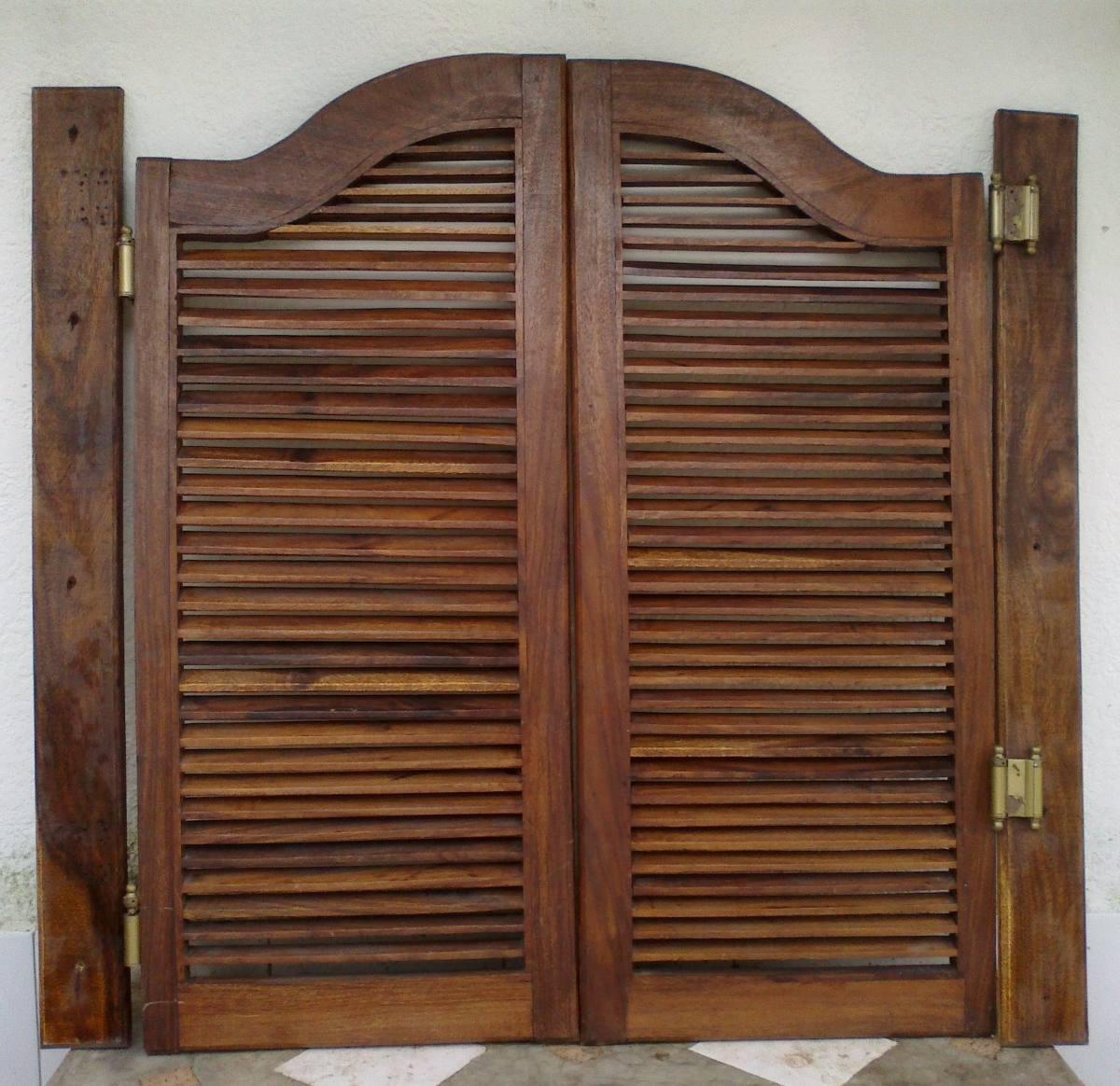 Puertas batientes madera de cocina en saman bs for Puertas de cocina baratas