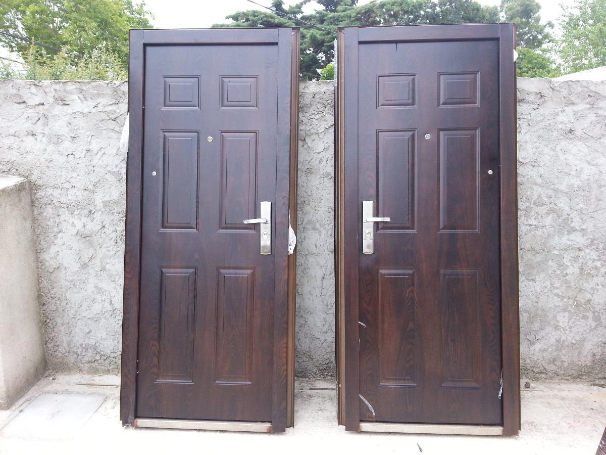 Puertas blindadas con 5 cerrojos medidas 205x85 oferta for Puertas blindadas