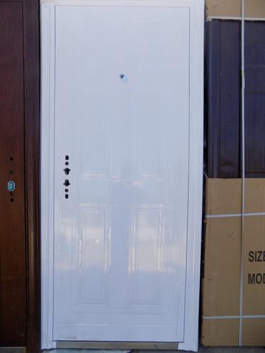 Puertas exterior para frente de seguridad - Puertas blindadas exterior ...