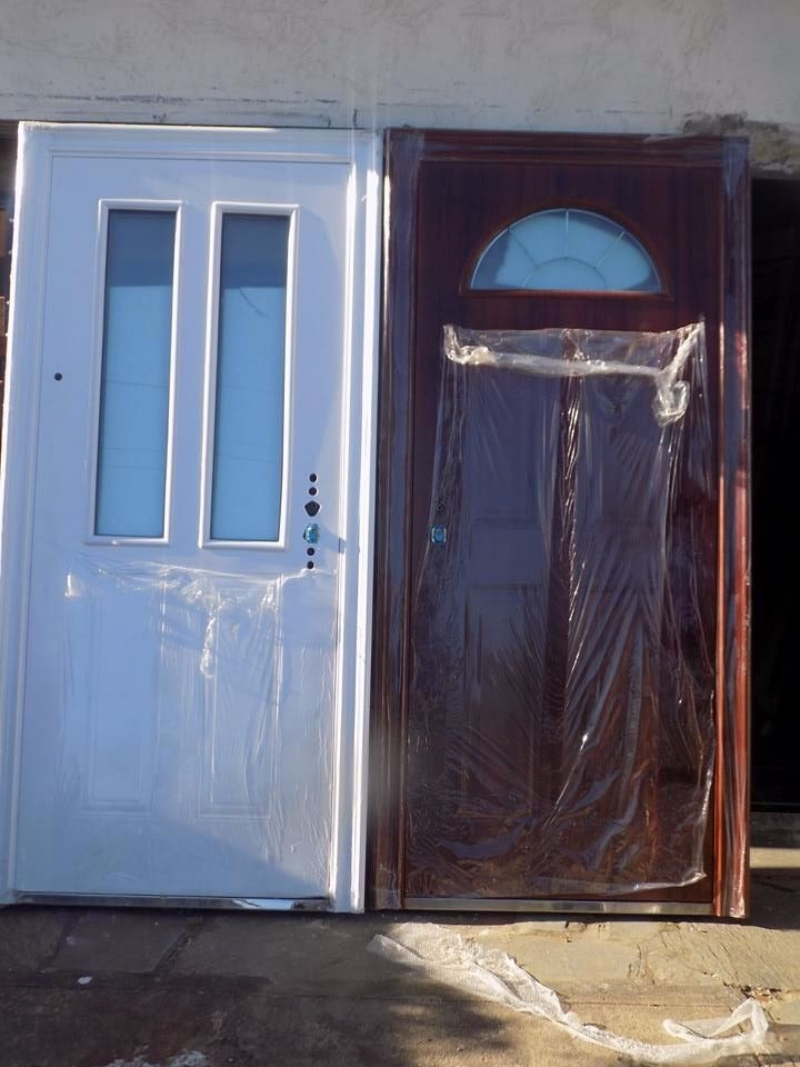 puertas exterior para frente de seguridad