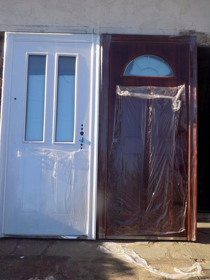 Puertas exterior para frente de seguridad - Puertas blindadas de exterior ...