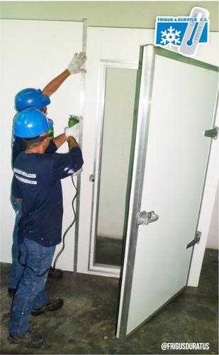 puertas cava cuarto cuarto frio fabricación a su medida.