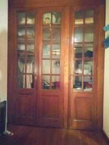 Puertas Cedro De Vidrio Repartido Excelentes 3 Unidades C U