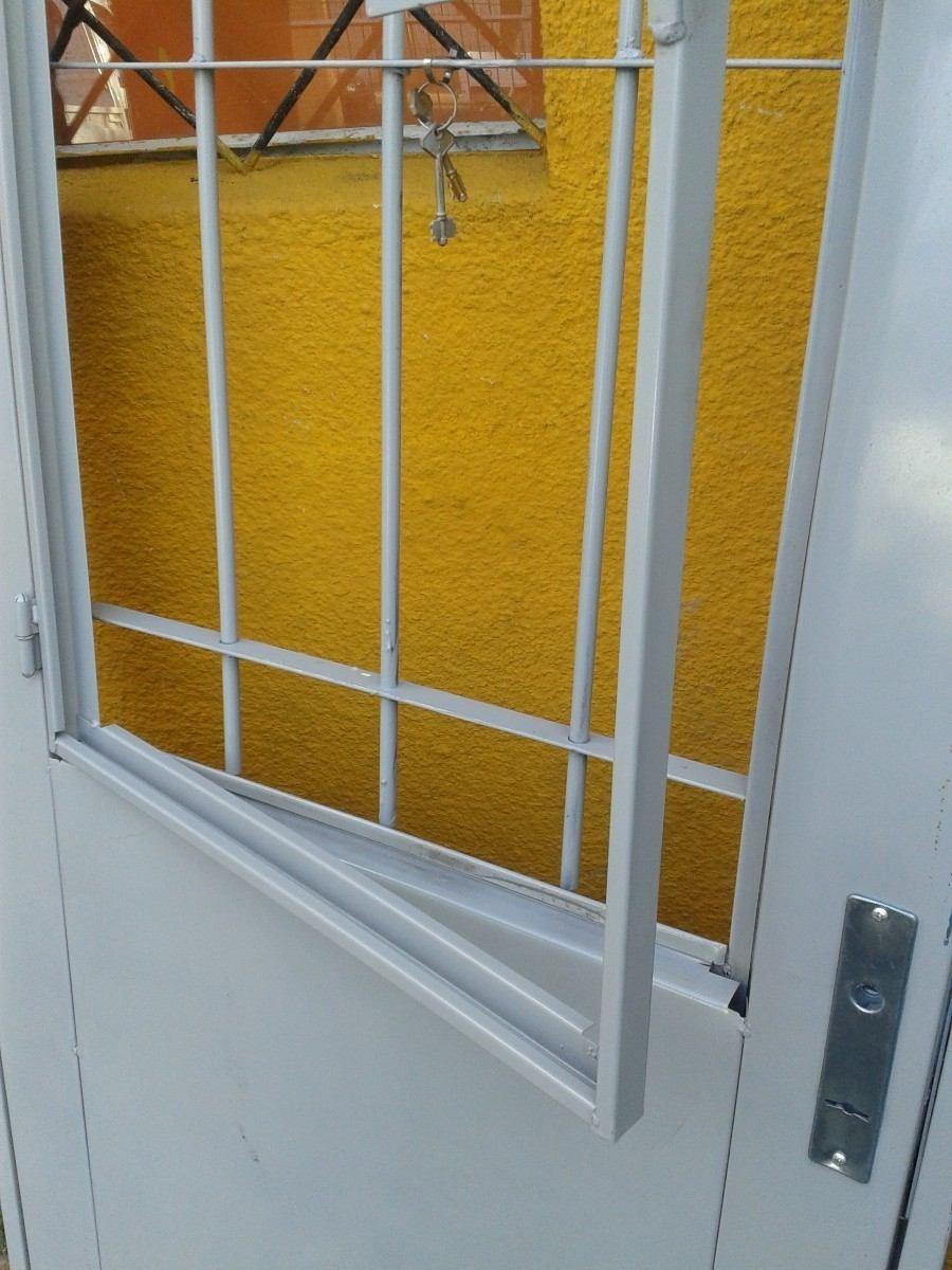 Puertas de chapa doble exteriores con o sin postigo nuevas for Puertas de chapa para exterior