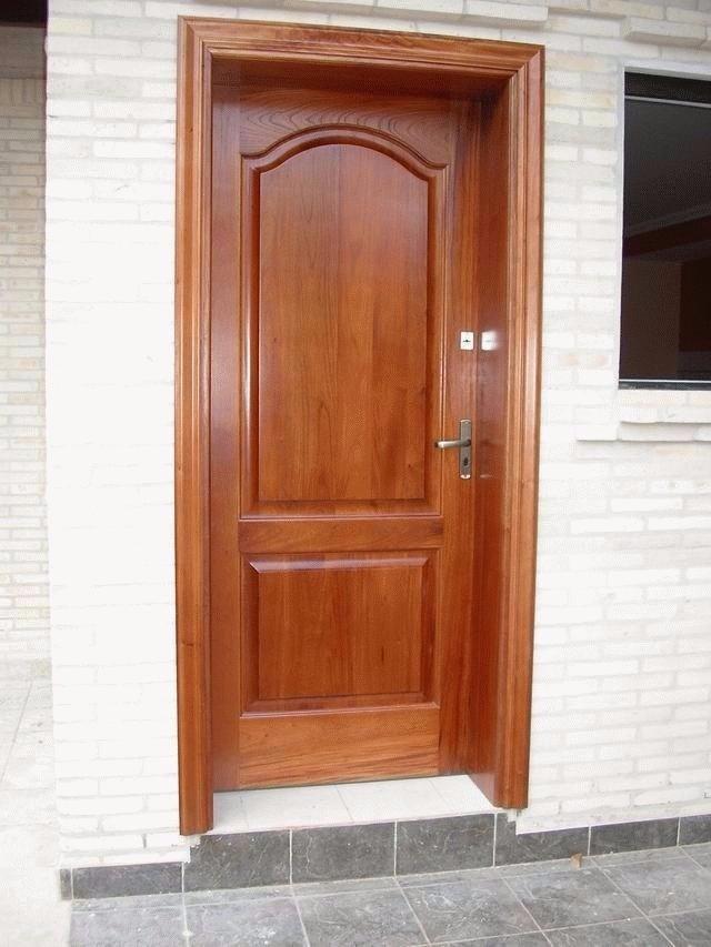 Puertas contraplacadas de madera con instalaci n gratis - Instalacion de puertas de madera ...