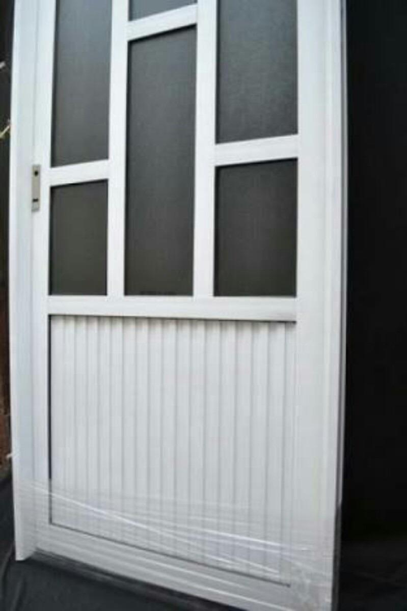 Puertas de aluminio 1950 1 en mercado libre for Puertas de calle aluminio precios