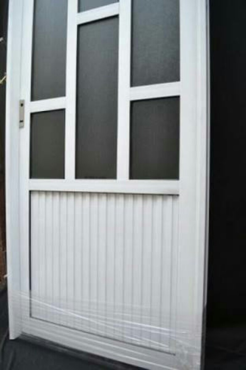Puertas de aluminio 1950 1 en mercado libre for Mosquiteros de aluminio