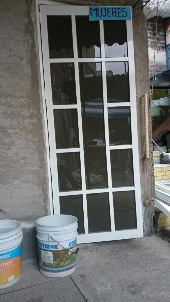 Puertas de aluminio 2000 2 en mercado libre for Aluminio para puertas