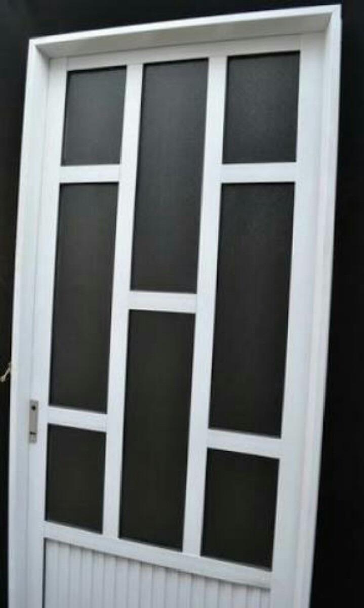Puertas de aluminio 2000 2 en mercado libre for Puertas y ventanas de aluminio blanco precios