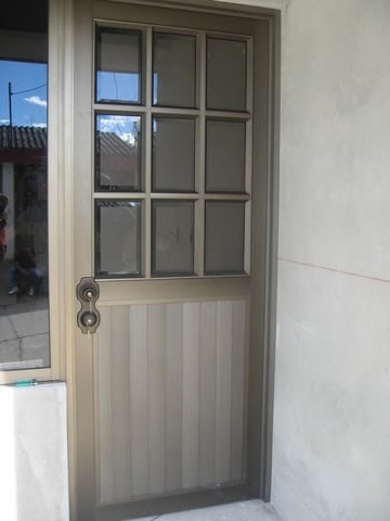 Puertas de aluminio barandales 3 en mercado libre - Puerta balconera aluminio ...