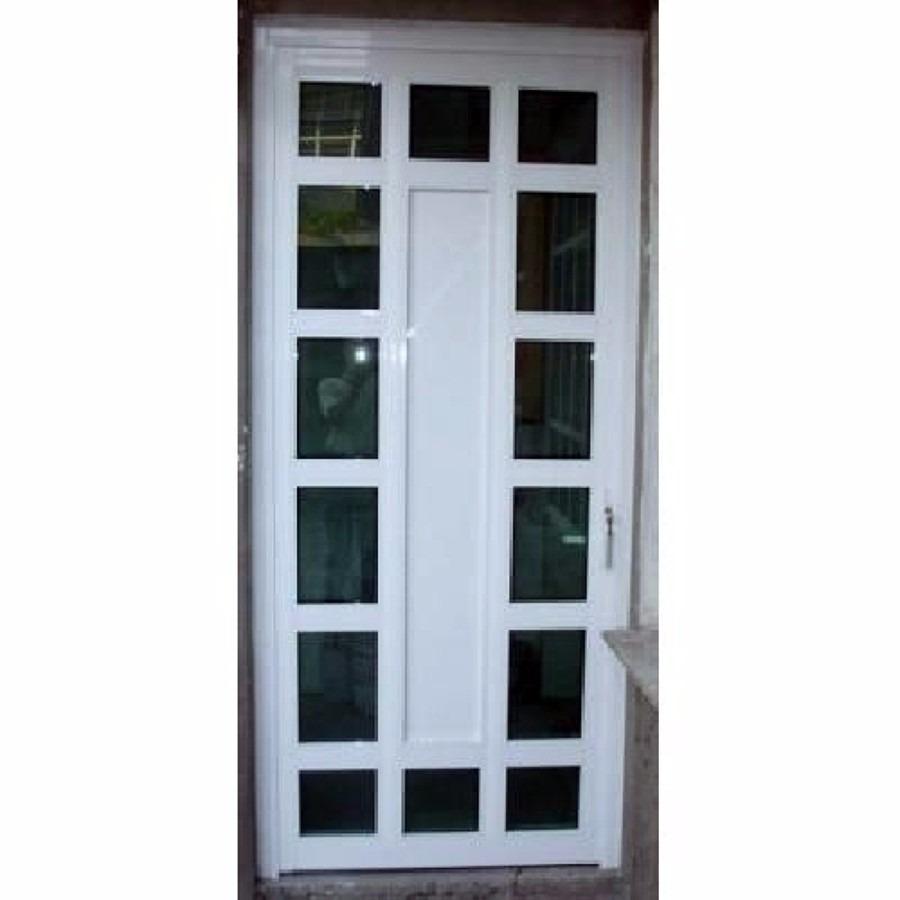 Puertas de aluminio en diferentes dise os y colores for Puertas interiores de aluminio y cristal