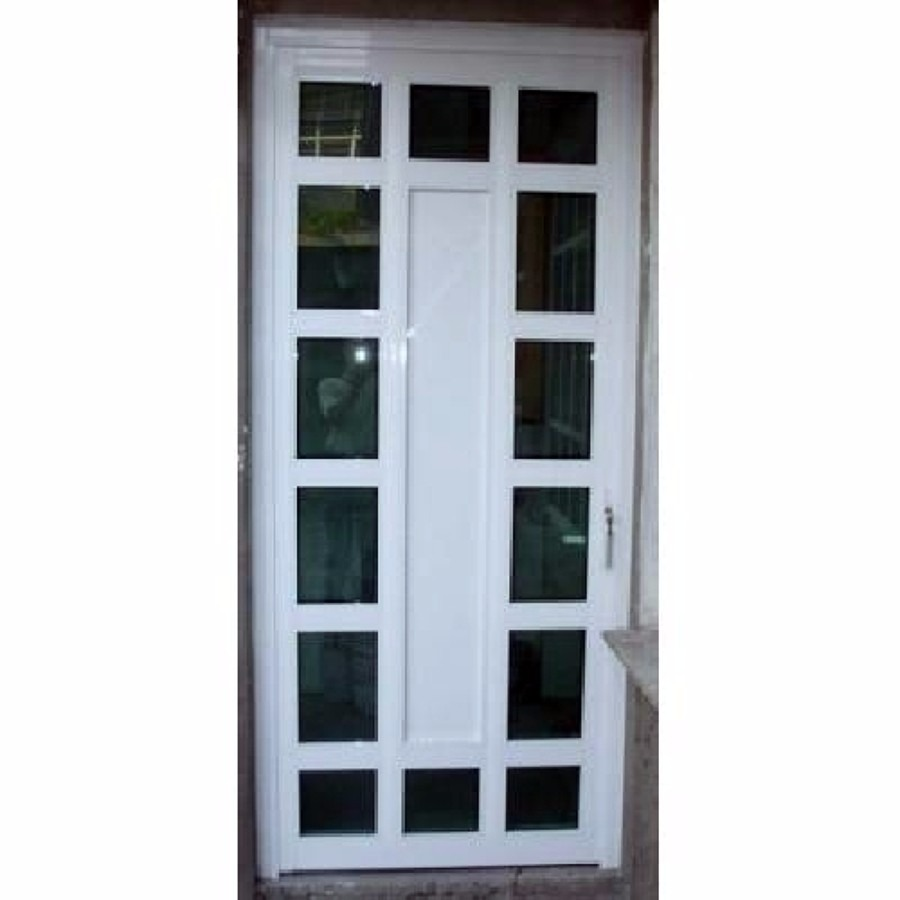 Puertas de aluminio en diferentes dise os y colores for Puertas interiores modernas de aluminio