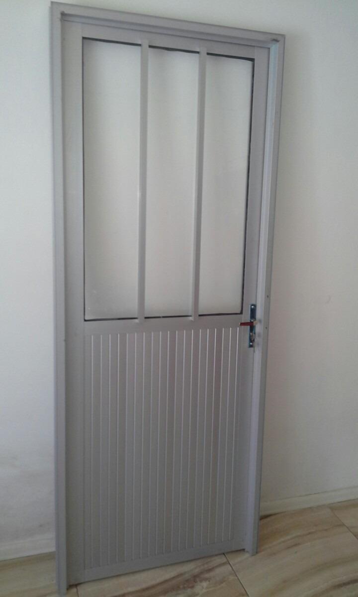 Puertas de aluminio exterior nuevas serie 30 puerta for Precio puerta aluminio blanco exterior
