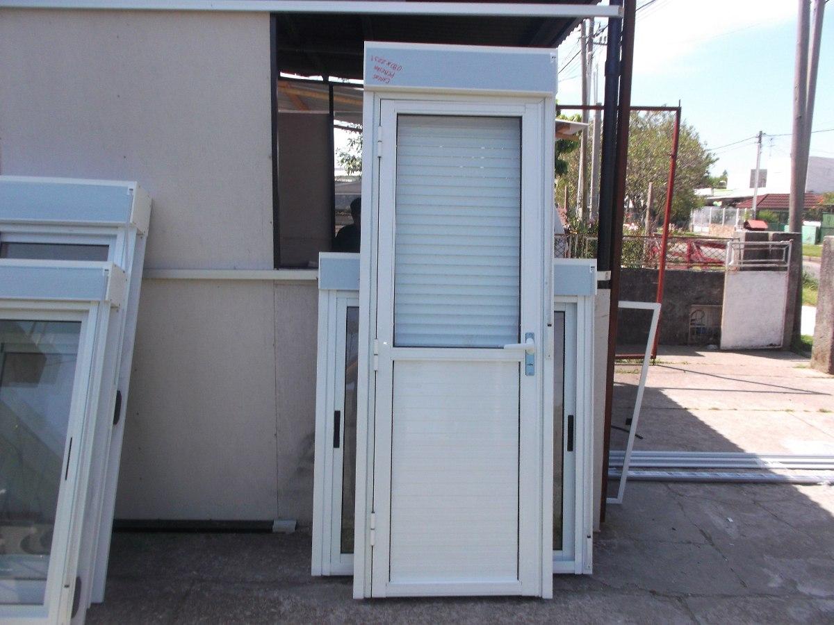 Puertas de aluminio gris natural en mercado libre for Puertas de aluminio baratas