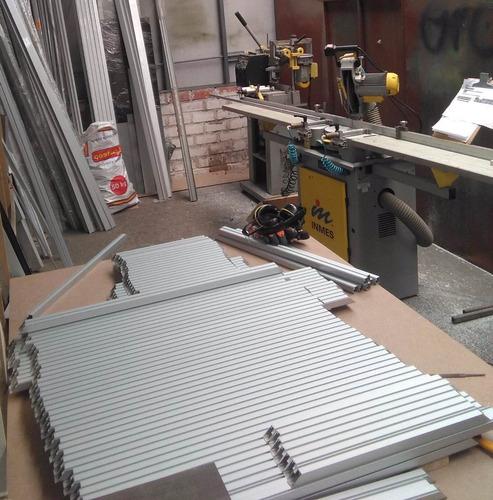 puertas de aluminio para muebles