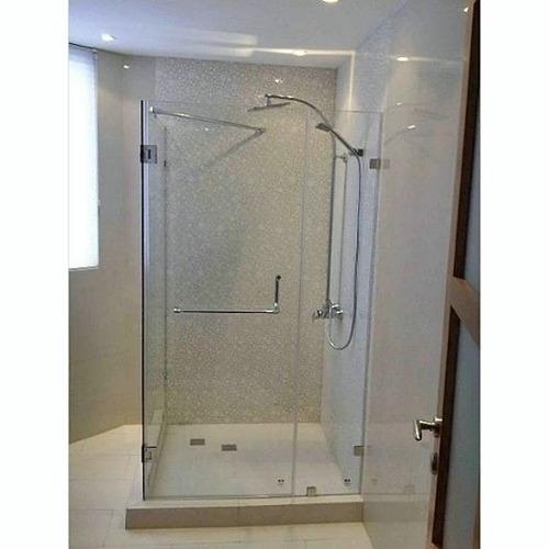 puertas de baño de vidrio templado