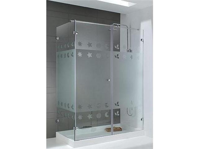 Puertas de ba o en vidrio templado bs en - Puertas para bano ...