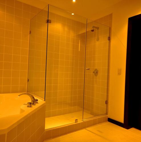 Puertas De Baño En Vidrio Templado De 8mm - U$S 20,00 en ...