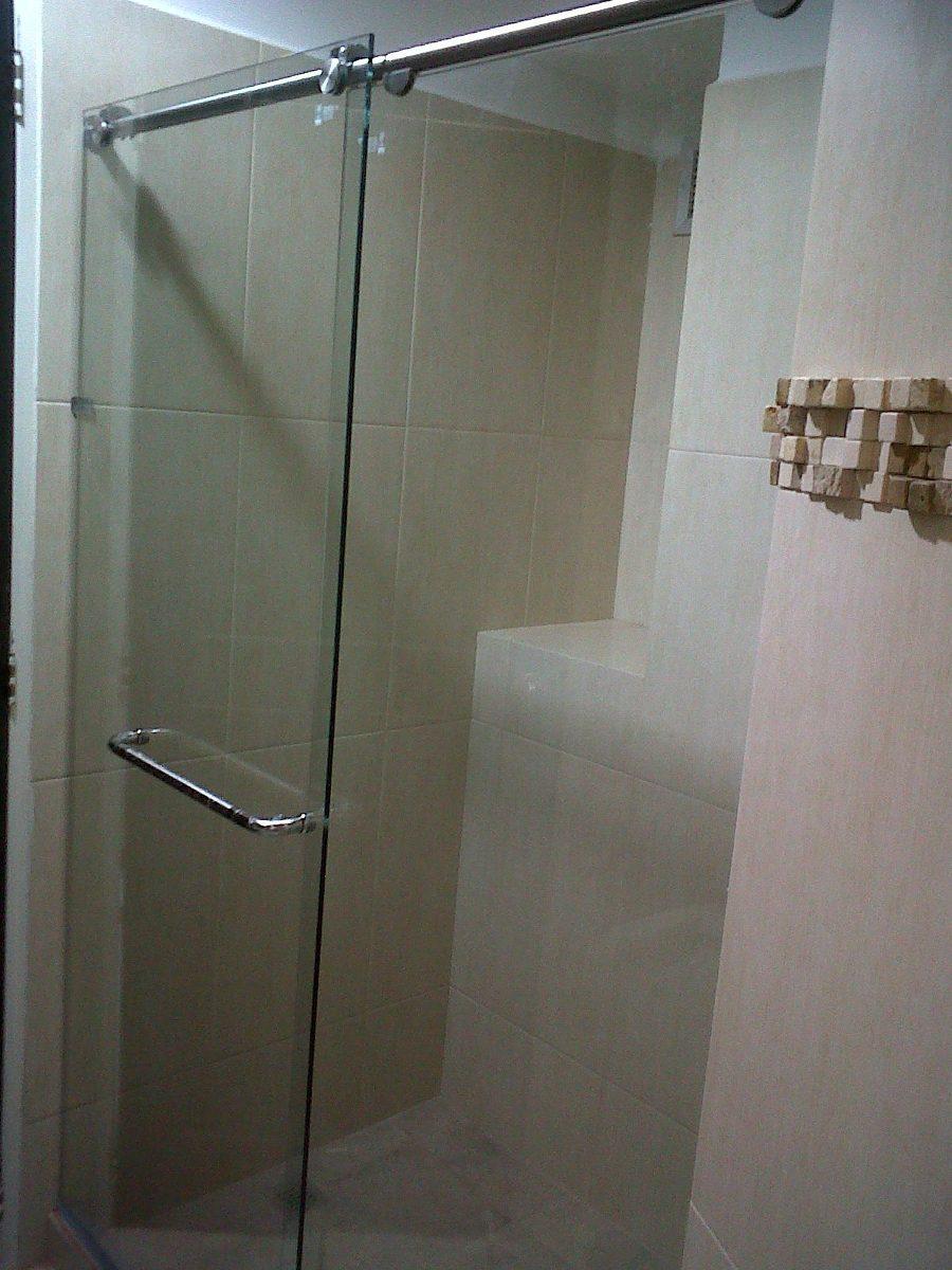 Puertas de ba o vidrio templado bs en for Puertas de cristal templado