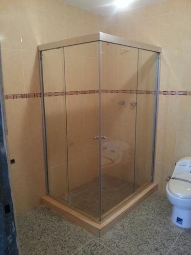 puertas de baño, vidrio templado, escaleras barandas acero