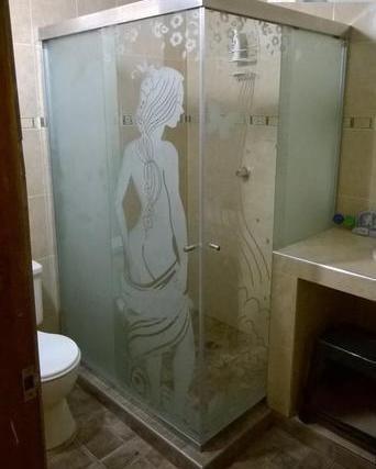 puertas de baños en vidrio templado y  acrílico.oferta