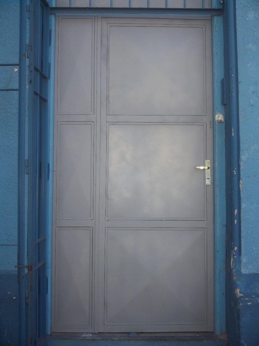 Puertas de chapa herreria en general en mercado libre - Puertas herreria ...