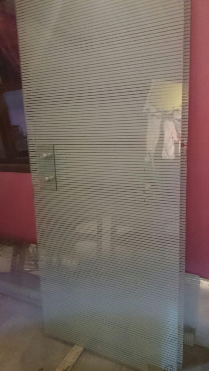 Puertas de cristal templado 3 en mercado libre for Puertas de cristal templado