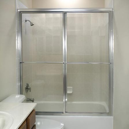 puertas de ducha en acrilico y vidrio templado 6mm,8mm