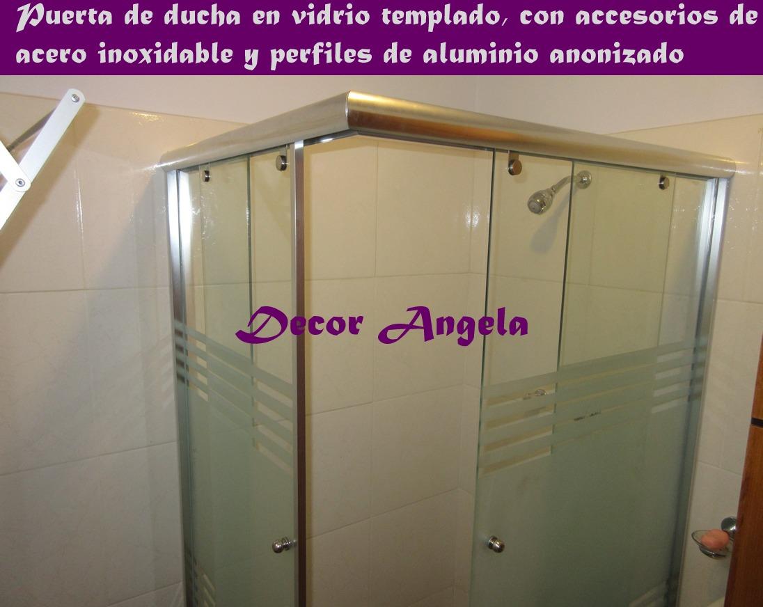 puertas de ducha en acrlico y vidrio