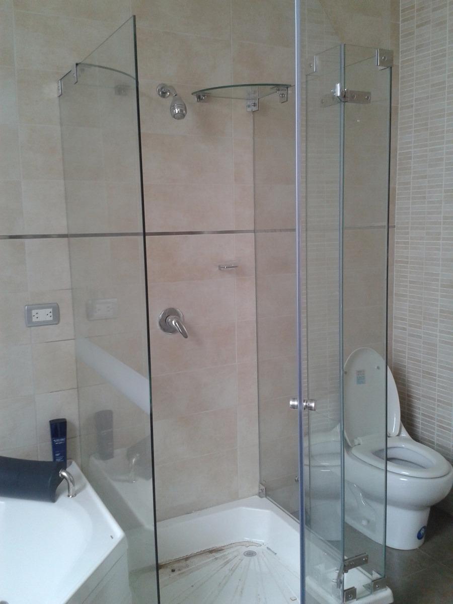 Puertas de ducha en vidrio templado mamparas para ducha - Mamparas vidrio templado ...