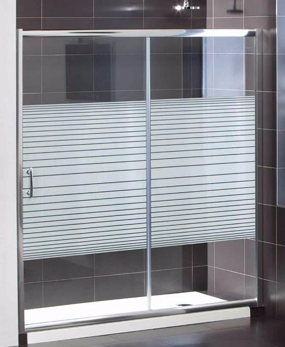 Puertas de ducha en vidrio templado roller m f s 99 00 for Duchas modernas precios