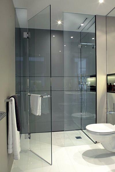 Puertas de ducha vidrio templado accesorios de acero s for Accesorios para ducha