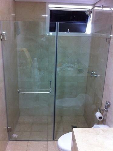 Puertas de ducha vidrio templado accesorios de acero s for Puertas de cristal templado