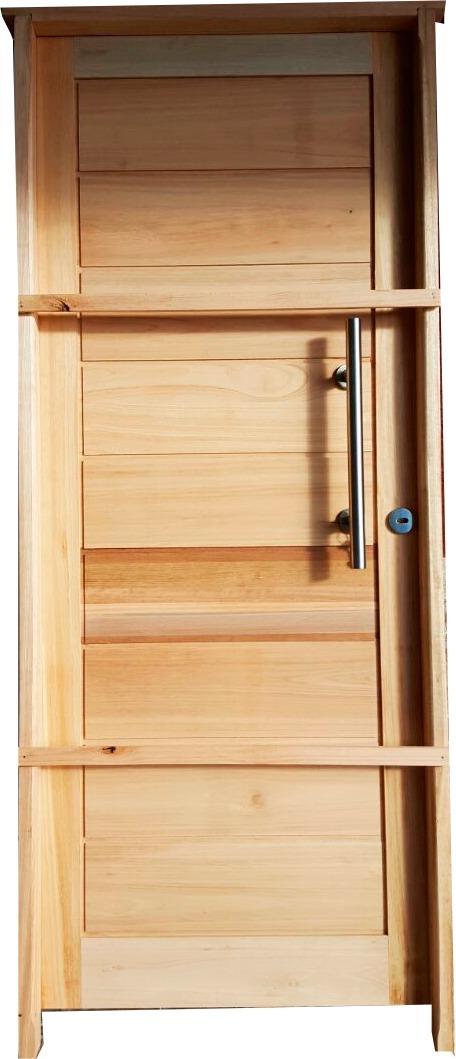 Puertas de exterior en madera maciza eucaliptus for Puertas de madera maciza exterior precios