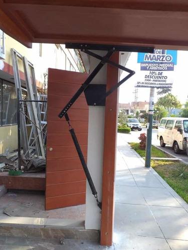 puertas de garaje, control remoto, cercos eléctricos