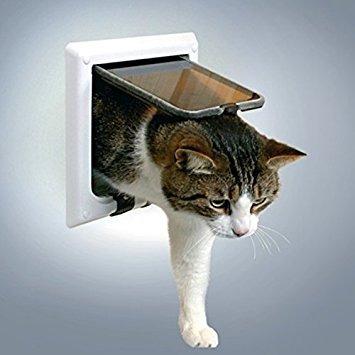 puertas de gato,trixie pet products 4 gatera camino con ..
