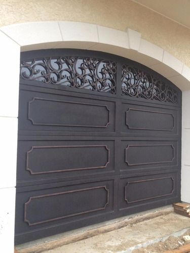 puertas de hierro forja herrería   artistica a pedido