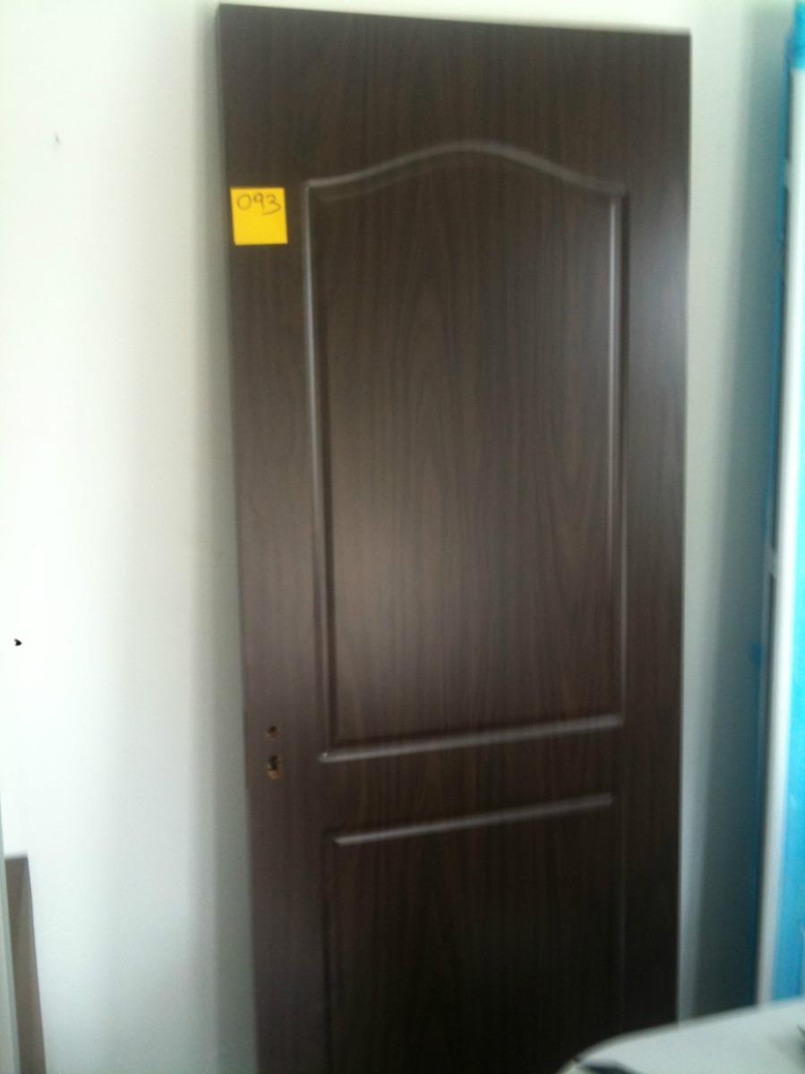 Puertas De Interior Madera Laminadas En Pvc - $ 4.180,00 en Mercado ...