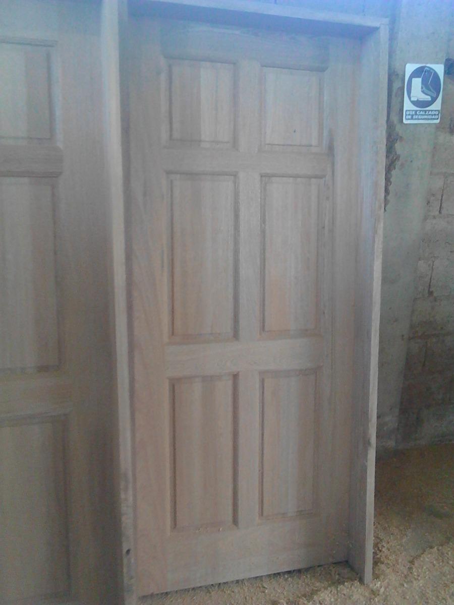 Puertas de madera apamate 100 pura madera x for Puertas 90 x 210
