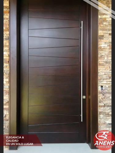 puertas de madera de cedro