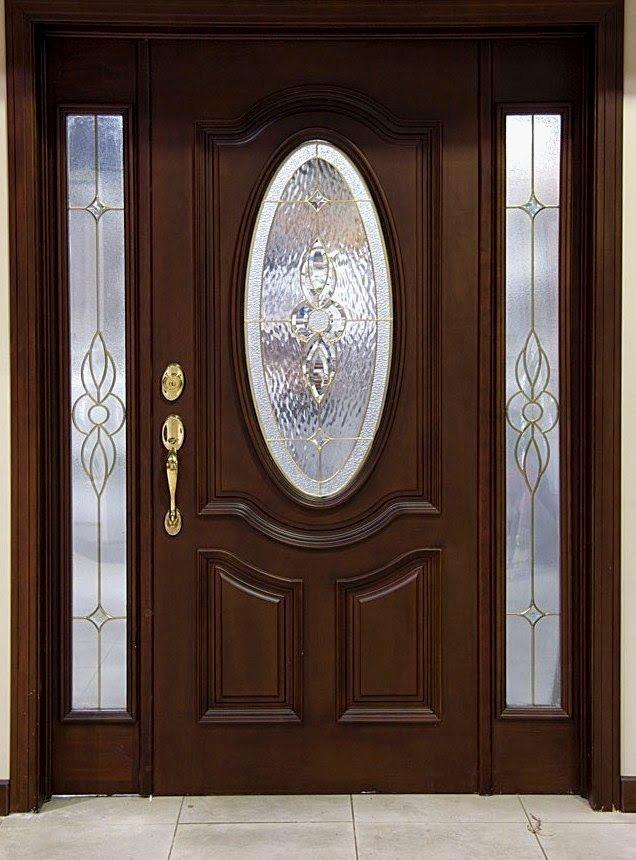 puertas de madera entrada principal 5 en