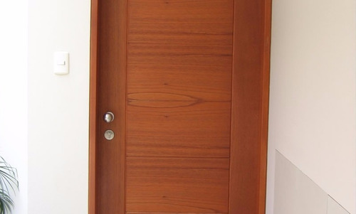 puertas de madera (machimbrado de cedro)