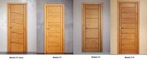 Puertas de madera macizas dise o minimalista bs for Puertas de madera minimalistas