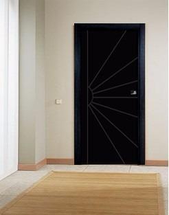 puertas de madera macizas en mdf modelo sol plus
