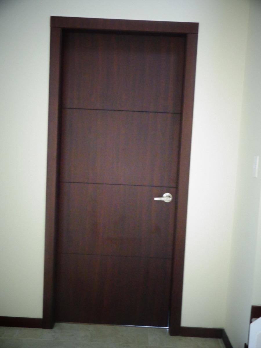 Puertas de madera moderna puertas de madera moderna - Puertas de madera interiores precios ...